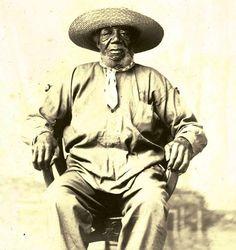 Veterano del General Lavalle, Juan Noriega, fines del siglo XIX. Documento fotográfico. Inventario 213372.