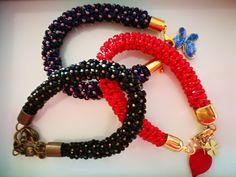 Bracelet by Manufaktura Leo Leather Working, Leo, Jewelry Making, Bracelets, Handmade, Fashion, Moda, Hand Made, Fashion Styles