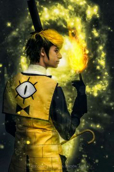 Bill Cipher Cosplay