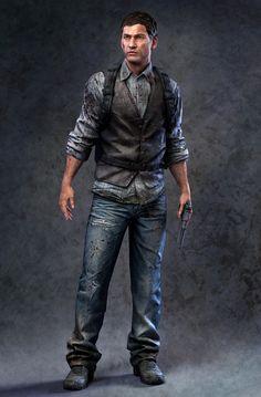 Eric Jackson(Low Poly model)