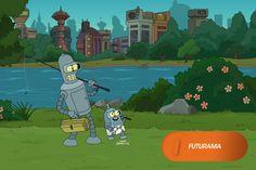 Um novo começo para Bender... Ele agora é pai!  Futurama - Nova temporada, sextas, às 12h   #FuturamaNaFOX Confira conteúdo exclusivo no www.foxplay.com