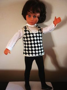 bambola_sebino_bettina_primi_anni_60 Polka Dot Top, Dolls, Life, Women, Fashion, Moda, Women's, Puppet, Fasion