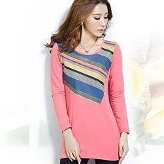 Cotton Striped Shirt - 3 colors - USD $ 17.99