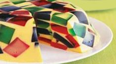 Ideal para un postre de los niños y adultos..es deliciosa esta receta para preparar gelatina de mosaico! Atrévete a prepararla!