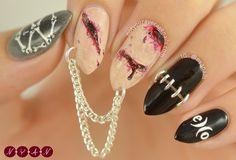 #EXO #Monster Inspired Nail Art