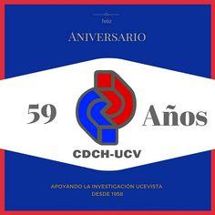 Aniversario CDCH-UCV 59 años apoyando la investigación ucevista