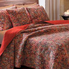 Greenland Home Fashions Persian Quilt Set & Reviews   Wayfair
