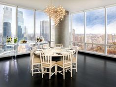 Najdrahší penthouse v NYC s výhľadom na Central Park má nového majiteľa New York Penthouse, Second Story, Pent House, City Style, Green Building, Luxury Apartments, New Builds, Beautiful Interiors, Apartment Living