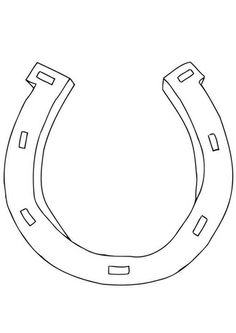 Horse Head Outline  Template Click here to download horse head