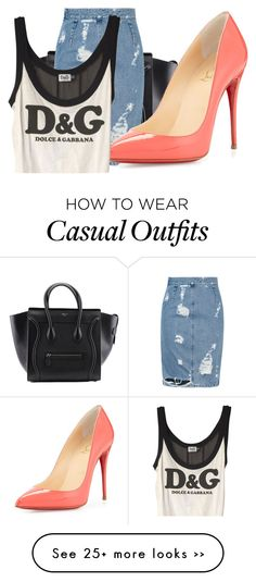 """""""Dolce and Gabanna Casual Chic"""" by kohlanndesigns on Polyvore"""
