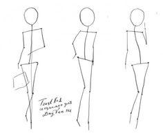 Как нарисовать фигуру человека карандашом поэтапно 1