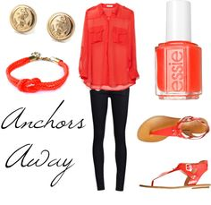 Anchors Away, created by leah-munroe on Polyvore