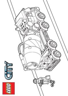 coloring page Lego - Lego