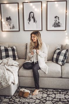 Guide Holiday Gift Guide featuring cozy favorites from QVCHoliday Gift Guide featuring cozy favorites from QVC Home Living Room, Living Room Designs, Living Room Decor, Formal Living Rooms, Bedroom Decor, Family Wall Decor, Playroom Wall Decor, Family Pictures, Family Photos On Wall