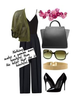 """Miss Green"" by mopc on Polyvore featuring мода, Raey, Iris & Ink, Givenchy, ZAC Zac Posen, Gucci, Dolce&Gabbana и Tiffany & Co."