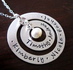 By Hannah Design Hand Stamped Jewelry Review and Giveaway on http://www.5minutesformom.com
