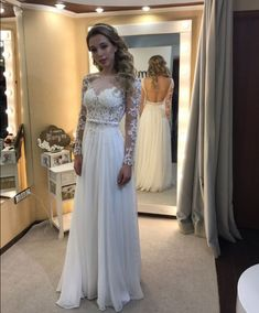 This+stunning+dress+for+prom+comes+in+light+blue,+blush,+navy,+red+,+green+and+all+color+in+our+chiffon+color+chart+.+Featuring+the+illusion+neckline+with+lace+appliques+bodice+,+long+sleeve+and+open+back+.++  Processing+time:+15-20+working+days Shipping+time:4-5+working+days Returnable+withi...