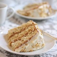 Authentic Italian Cream Cake    This is my favorite cake.  Ever.  My mother-in-law used t make it for my birthday....it was so wonderful!  Great memories.