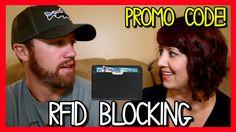 KINZD SLIM RFID BLOCKING WALLET (W/PROMO CODE)