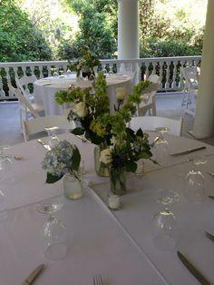 Mason jars and bottles, magnolia plantation