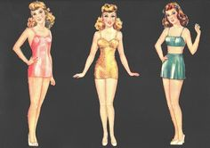 Miss America Paper Dolls 1941