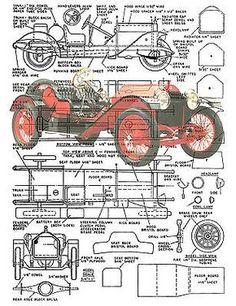 wood model plans - Google Search