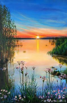 """Landscape Oil painting on canvas - """"Not . - Buy Landscape Oil painting on canvas – """"Not … oil the -Buy Landscape Oil painting on canvas - """"Not . - Buy Landscape Oil painting on canvas – """"Not … oil the - Scenery Paintings, Nature Paintings, Landscape Paintings, Art Paintings, Paintings Famous, Indian Paintings, Matisse Paintings, Bob Ross Paintings, Portrait Paintings"""