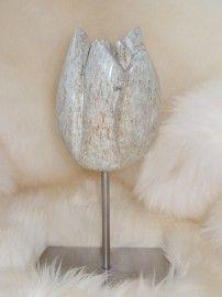 tulp speksteen Stone Sculpture, Sculpture Art, Ceramic Figures, Soapstone, Stone Carving, Stone Painting, Deco, Workshop, House
