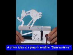 Paper Automata | Free Templates, Fun Design Ideas and Mechanism Info