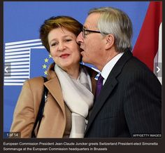 Clipped from Express Website. This man Junckers is threatening to do a lot more against the USA than breathe Garlic of them. He is threatening to break up your country after your democratic vote. Remember that the USA sends tens of millions of dollars to the EU every day, just for German cars, not to mention the rest. Trade with the free world and avoid EU goods! Everything that you need is obtainable n the free world and of better quality! Proof available here. This is NOT fake news.