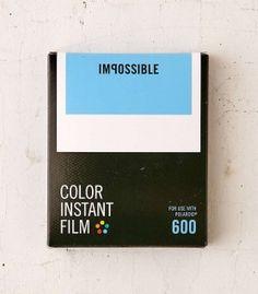 Pellicules pour Polaroid 600