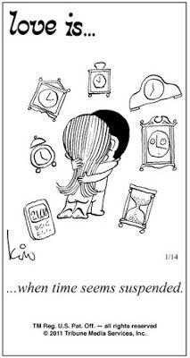 Pensamentos, Citações e Coisas do Género... Thoughts, Quotes and Those Sort of Things...: Amor é... quando o tempo parece suspenso.