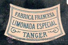 ETIQUETA DE LIMONADA ESPECIAL TANGER