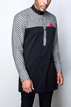Ankara Xclusive: Hot African Men Trending Ideas That Will Blow Your Mind African Wear Styles For Men, African Shirts For Men, Ankara Styles For Men, African Dresses Men, African Attire For Men, African Clothing For Men, African Style, African Women, Nigerian Men Fashion