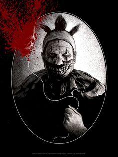 "American Horror Story - Freak Show - Paul Jackson ''Twisty'' ---- ""American Horror Story"" art show at Hero Complex Gallery (2015-10) #AHS"