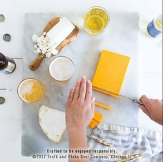 Build a beautiful cheese board for your holiday gathering, then plus it up with some tasty beer pairings.