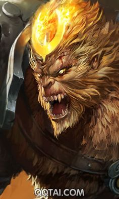 League of Monkey King QQ skin image to download
