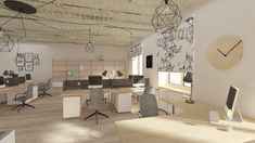 Industrial design office by Free Architects
