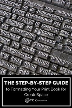 Give your readers what they want: more choices! It's easy to set up your book for print using CreateSpace and Word—just follow our handy step-by-step guide and you'll be in print in no time.