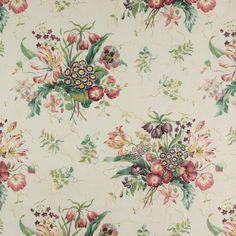 Colefax and Fowler Alicia Chintz fabric Alexander Interiors Ltd