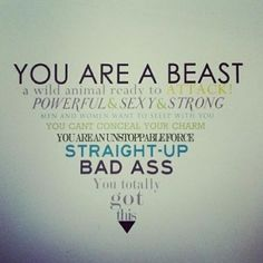 you are a beast  - Click to enlarge