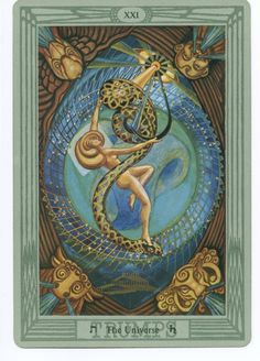 ALEISTER CROWLEY THOTH TAROT CARD DECK.