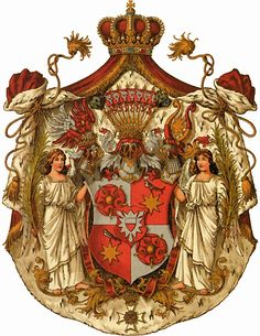 Coat of Amrs Fürstentum Schaumburg-Lippe Wappen Schaumburg Lippe, Family Shield, Knights Templar, Family Crest, Crests, Coat Of Arms, Middle Ages, Medieval, Symbols