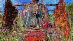 PCペイントで絵を描きました! Art picture by Seizi.N:   昨日描いた絵です、ご用済みになった機関車が野ざらしで、かわいそうなのでアート風にお絵描きしてみました。  The 18 Best ENGLISH Songs of JULIO IGLESIAS http://youtu.be/RcuCgZQXW6M