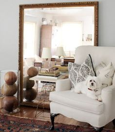 Decorating tips on the Design Happy blog!  http://www.countryliving.com/homes/house-tours/family-friendly-home-decor-lovely-and-liveable#slide-6