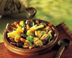 Tajine aux 7 légumes et citrons confits