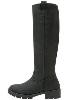 Anna Field Stiefel black Schuhe bei Zalando.de | Obermaterial: Hochwertiges Lederimitat, Innenmaterial: Textil, Sohle: Kunststoff, Decksohle: Textil | Schuhe jetzt versandkostenfrei bei Zalando.de bestellen!