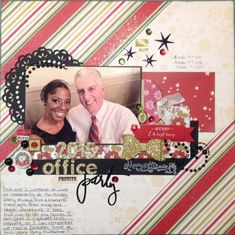 Heidi Swapp Believe  2015 Office Party - Scrapbook.com