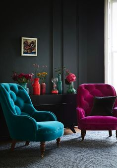 Take a plunge with strong hues this season… Image Credit: www.sofa.com