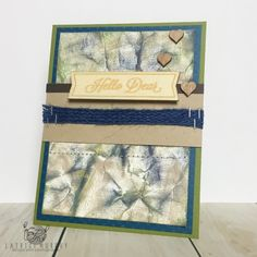Want to learn how to make a camouflage background on paper with Colorbox Pigment Ink? Check out the quick tutorial by Latrice by clicking on the image.   Clearsnap Blog